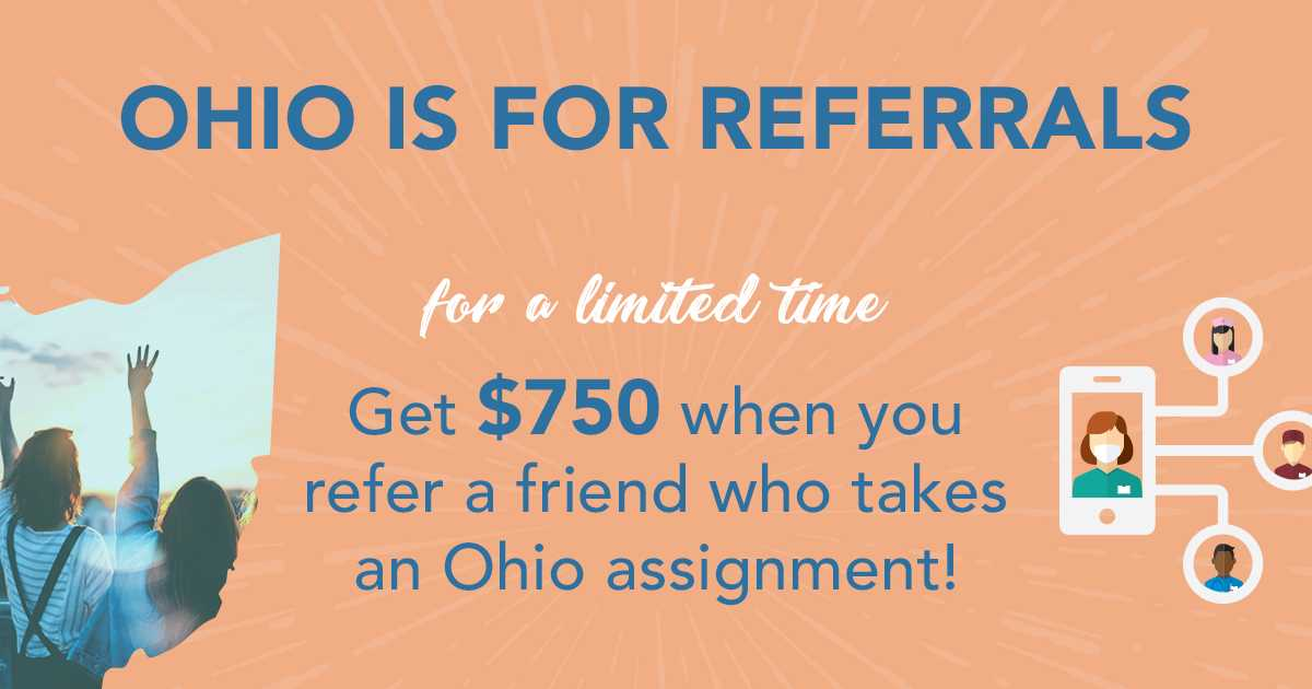 Ohio referral bonus special